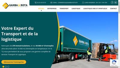Site internet de Gamba et Rota