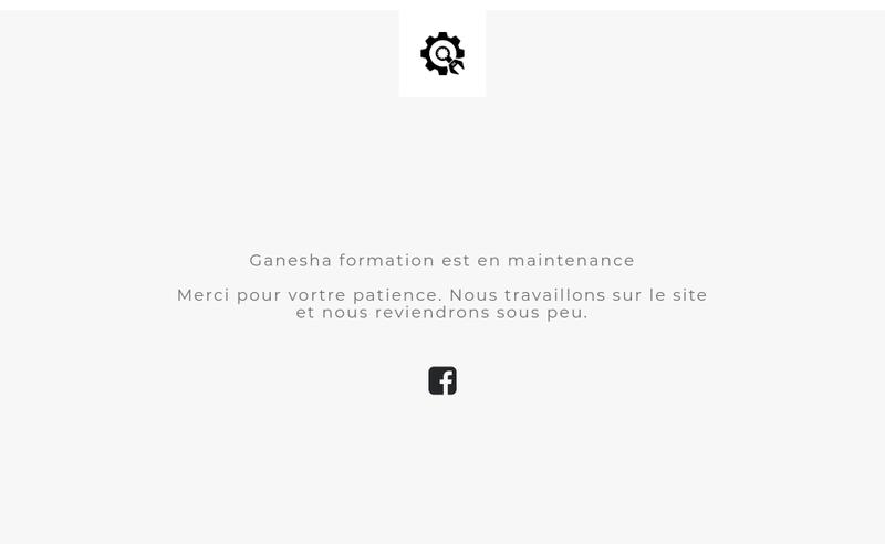 Capture d'écran du site de Ganesha