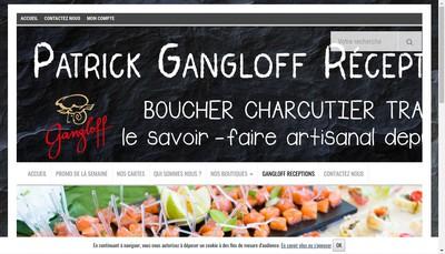 Site internet de Patrick Gangloff Receptions