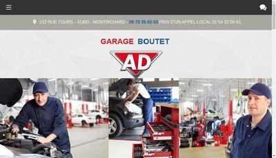 Site internet de Garage Boutet