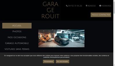 Site internet de Garage Rouit Georges