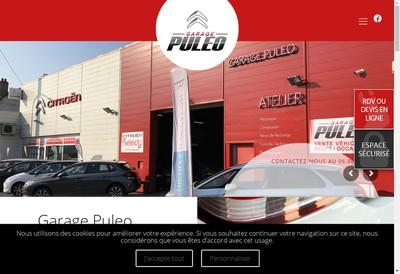 Site internet de Garage Puleo