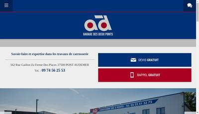 Site internet de SARL Garage des Deux Ponts