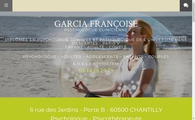 Site internet de Francoise Guillou