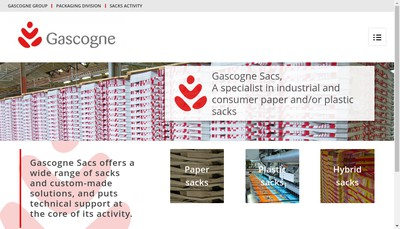 Site internet de Gascogne Sack