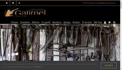 Site internet de Gatimel SA