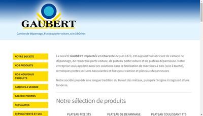 Site internet de Gaubert Industries