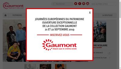 Site internet de Gaumont Television
