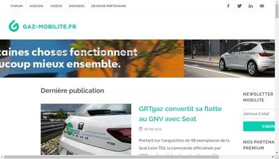 Site internet de Gaz'Up