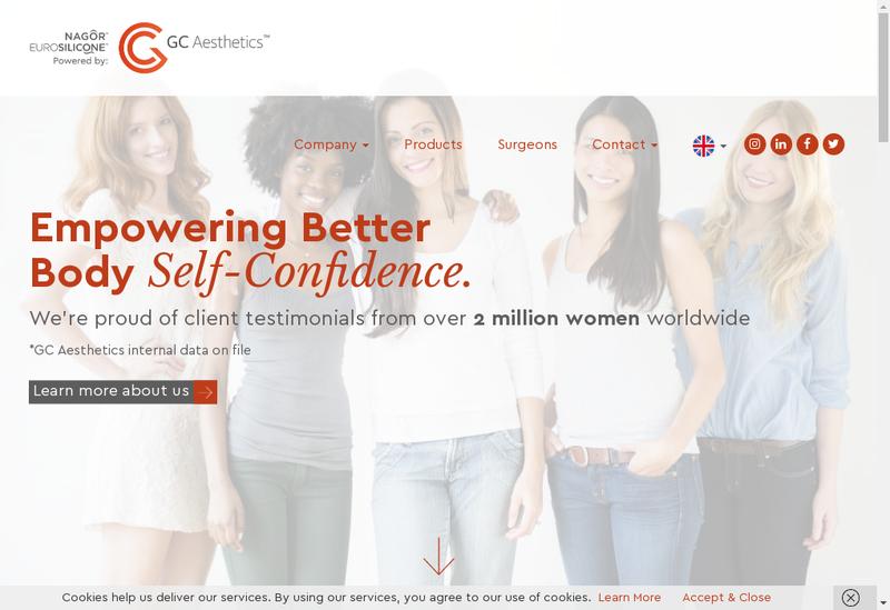 Capture d'écran du site de Europrotex