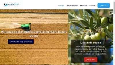 Site internet de Gdevco