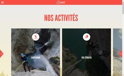 Site internet de Gecco Aventure
