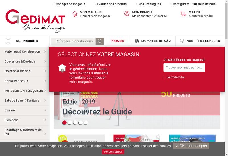 Capture d'écran du site de Labenne Rougier