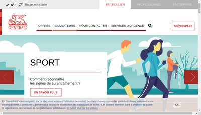 Site internet de Generali France