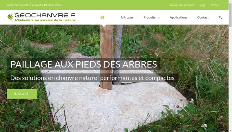Capture d'écran du site de Geochanvre F
