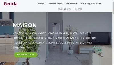 Site internet de Maisons Phenix-Maison Familiale