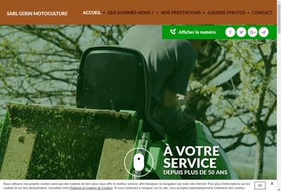 Site internet de SARL Gerin Motoculture
