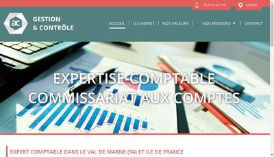 Site internet de Gestion et Controle