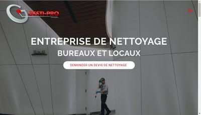 Site internet de Groupe Gesti-Pro