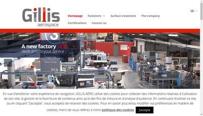 Site internet de Gillis Aero