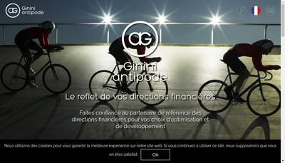 Site internet de Ginini
