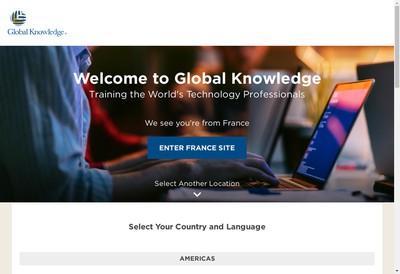 Site internet de Global Knowledge Network France