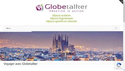 Site internet de Globetalker