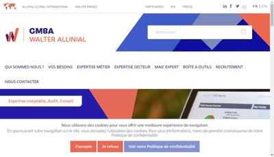 Site internet de Gmba Seleco