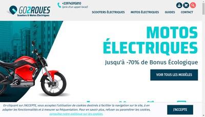 Site internet de Go2Roues