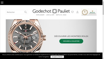 Site internet de Godechot Pauliet