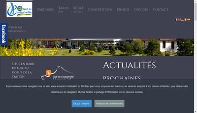 Site internet de Golf de Coutainville