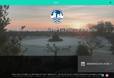 Site internet de Golf Ocean 17