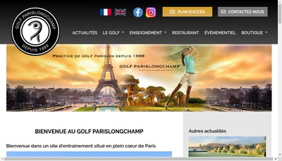 Site internet de Golfparislongchamp