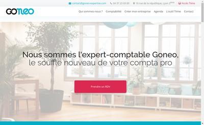 Site internet de Goneo Expertise