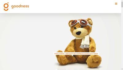 Site internet de Goodness SAS