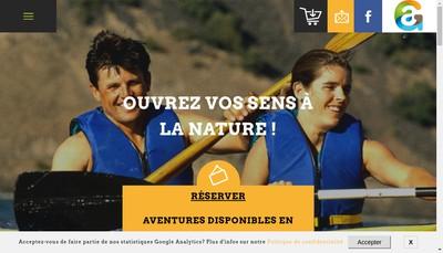 Site internet de Global'Aventure