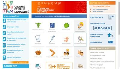 Site internet de Gpm Courtage