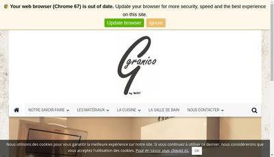 Site internet de Granico