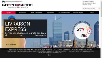 Site internet de Graphi Scann