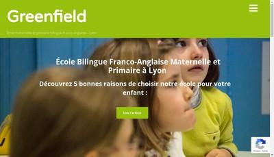 Site internet de Greenfield
