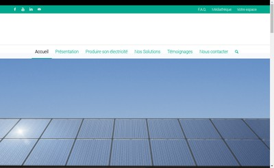 Site internet de Green Solution Energie