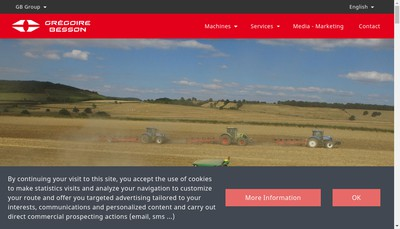 Site internet de Gregoire-Besson