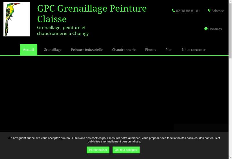 Capture d'écran du site de CSV