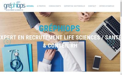Site internet de Grephiops