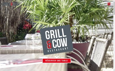 Site internet de Grill And Cow