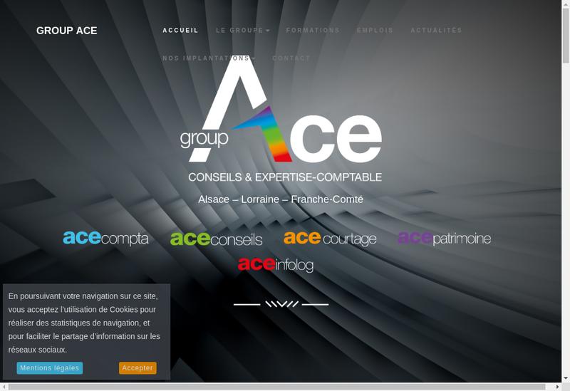 Capture d'écran du site de Ass Info Log