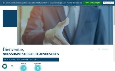 Site internet de Advolis