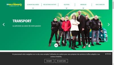 Site internet de Bils Deroo Holding
