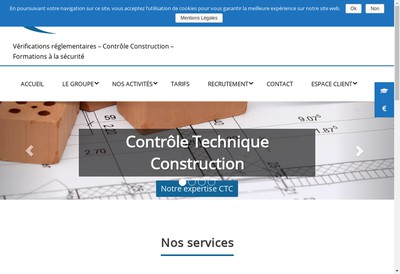 Site internet de Cabinet Kupiec et Debergh