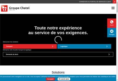 Site internet de Groupe Chatel